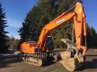 Equipment photo DOOSAN INFRACORE AMERICA CORP. DX225LC-3 RUPSGRAAFMACHINES 1