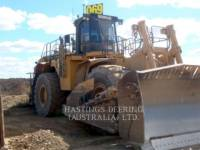 Equipment photo CATERPILLAR 854 K TRACTEURS SUR PNEUS 1