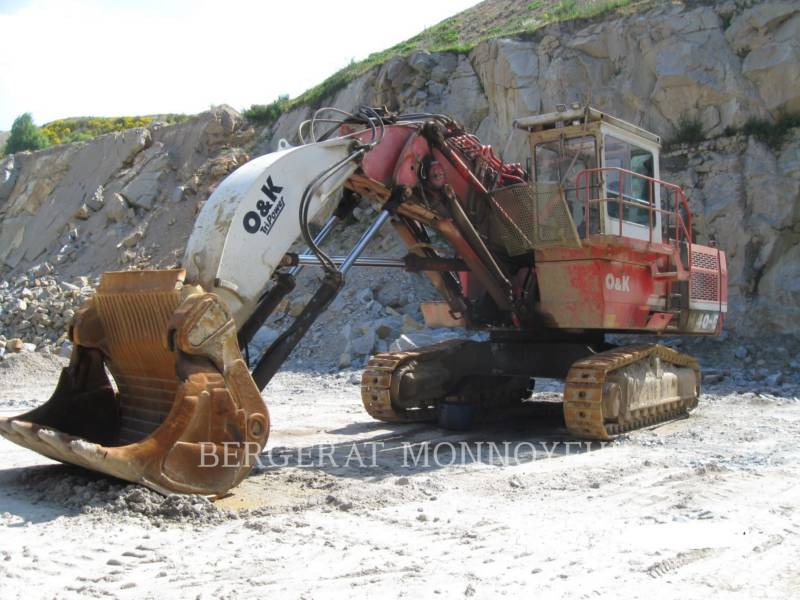 O&K PELLE MINIERE EN BUTTE RH40 equipment  photo 2