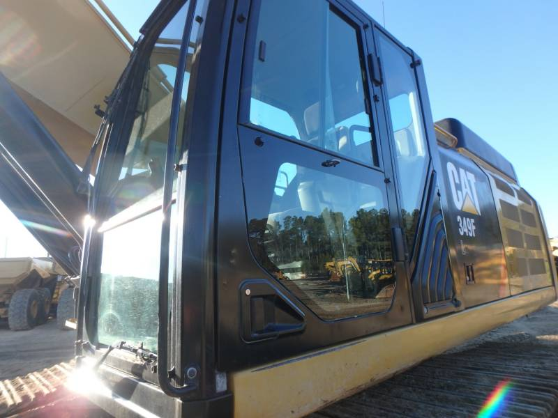 CATERPILLAR TRACK EXCAVATORS 349FL equipment  photo 17