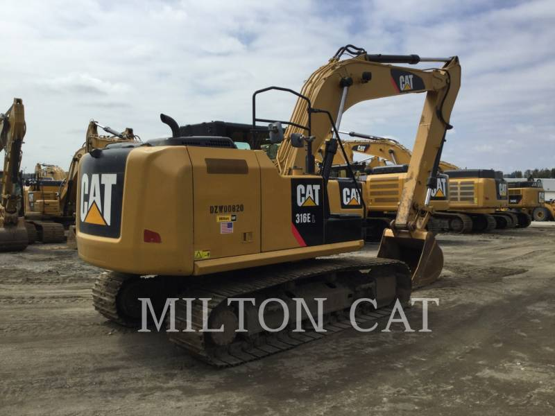 CATERPILLAR TRACK EXCAVATORS 316E L equipment  photo 5