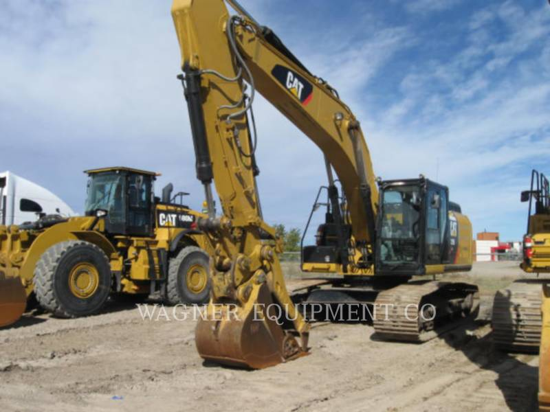 CATERPILLAR トラック油圧ショベル 329EL THB equipment  photo 1
