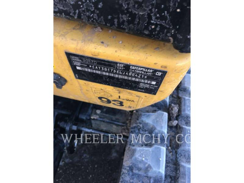 CATERPILLAR EXCAVADORAS DE CADENAS 301.7D C1 equipment  photo 5