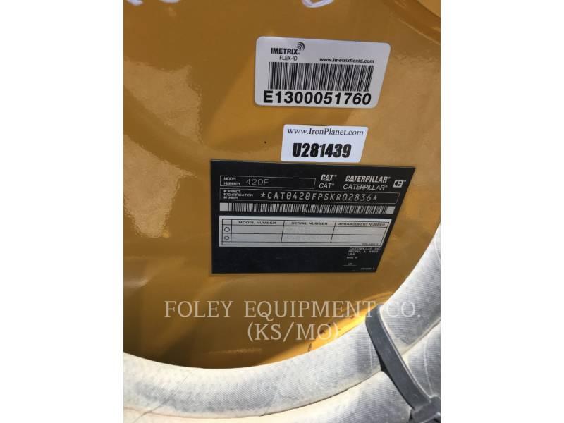 CATERPILLAR TERNE 420FST equipment  photo 6