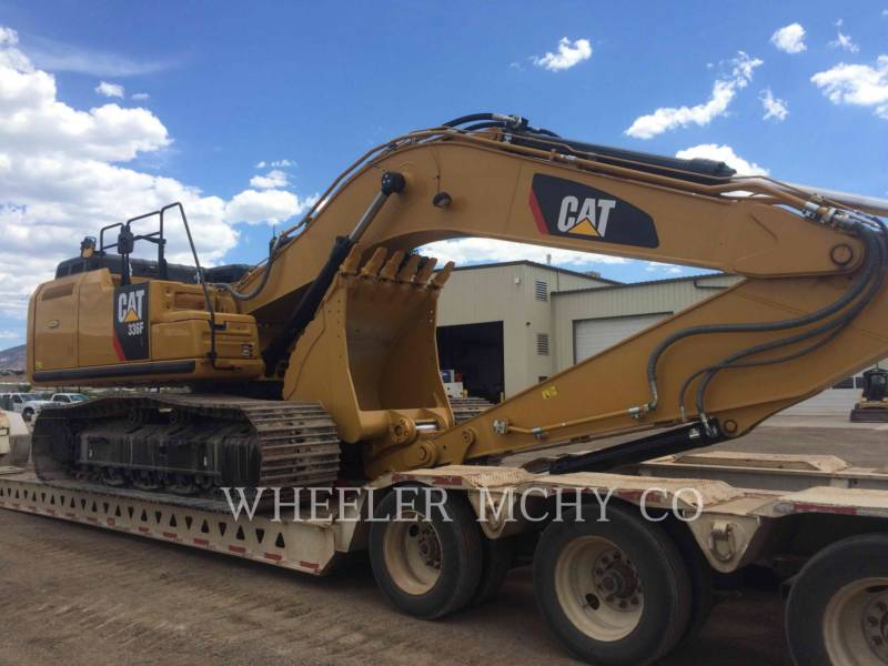 CATERPILLAR KETTEN-HYDRAULIKBAGGER 336F L CF equipment  photo 1