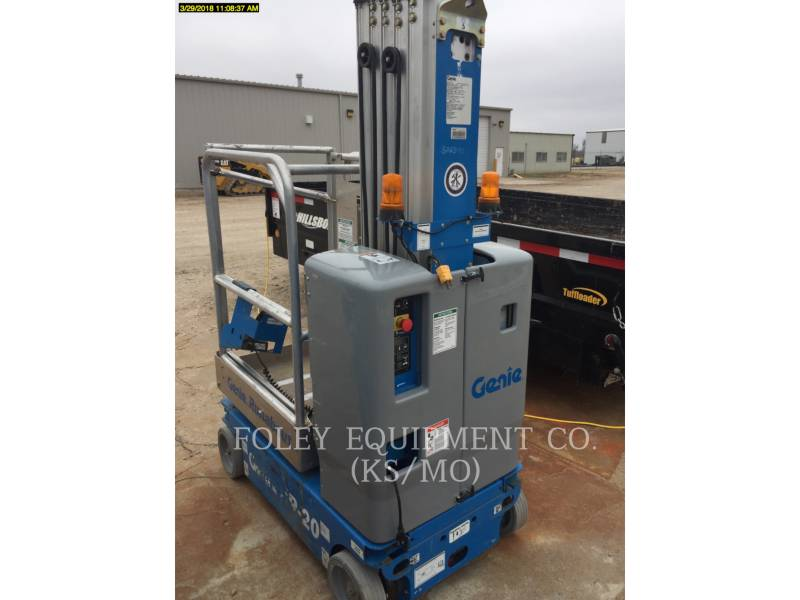 GENIE INDUSTRIES SOLLEVATORI A PANTOGRAFO GR20 equipment  photo 3