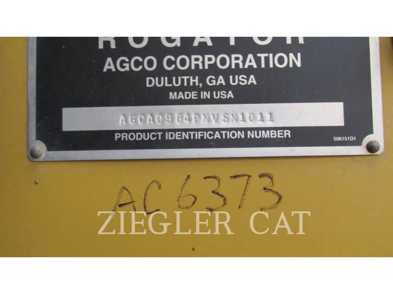 AG-CHEM PULVERIZADOR 984 equipment  photo 15