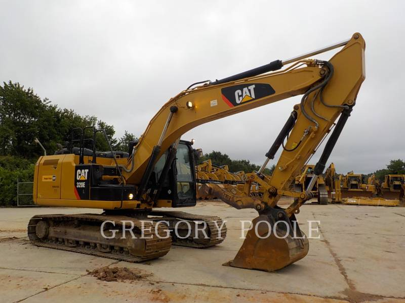 CATERPILLAR TRACK EXCAVATORS 320E L equipment  photo 4