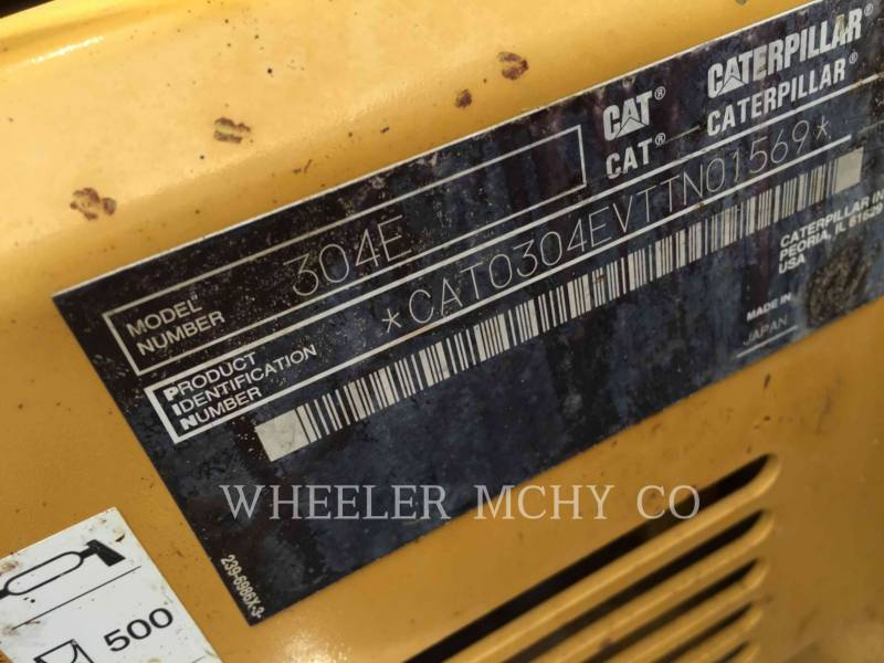 CATERPILLAR TRACK EXCAVATORS 304E C3 equipment  photo 9