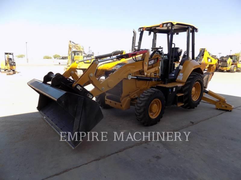 CATERPILLAR BAGGERLADER 420F2IT equipment  photo 4
