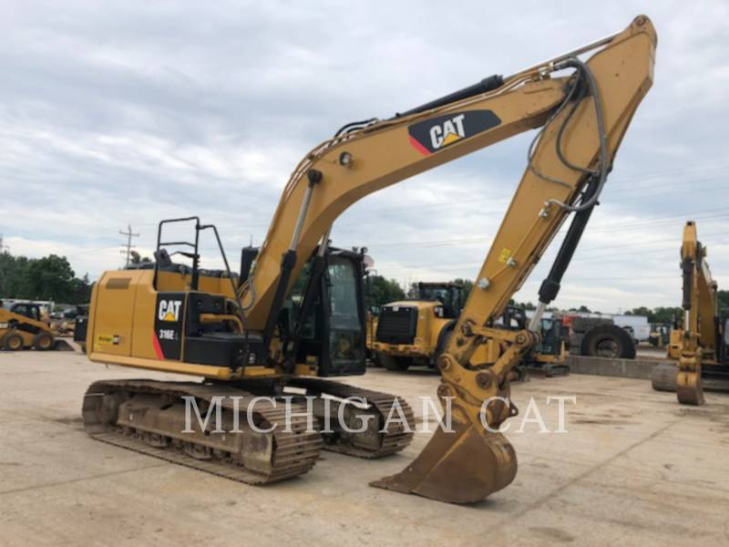 CATERPILLAR EXCAVADORAS DE CADENAS 316EL PQ28 equipment  photo 2