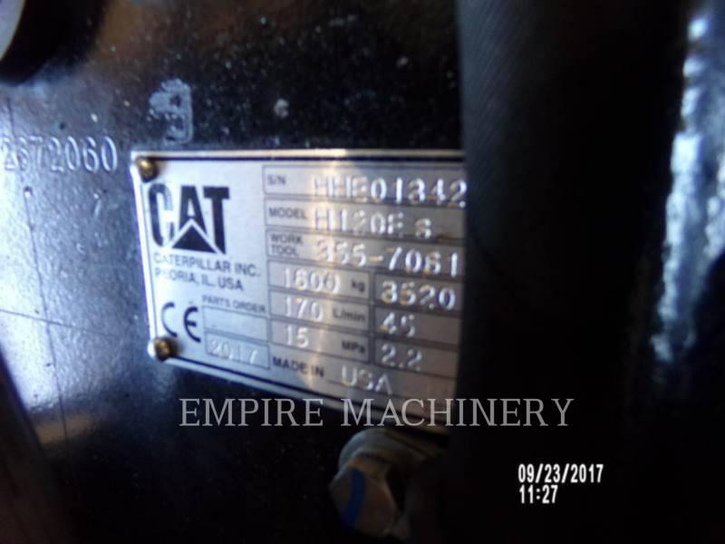 CATERPILLAR  MARTELLO H120ES equipment  photo 5