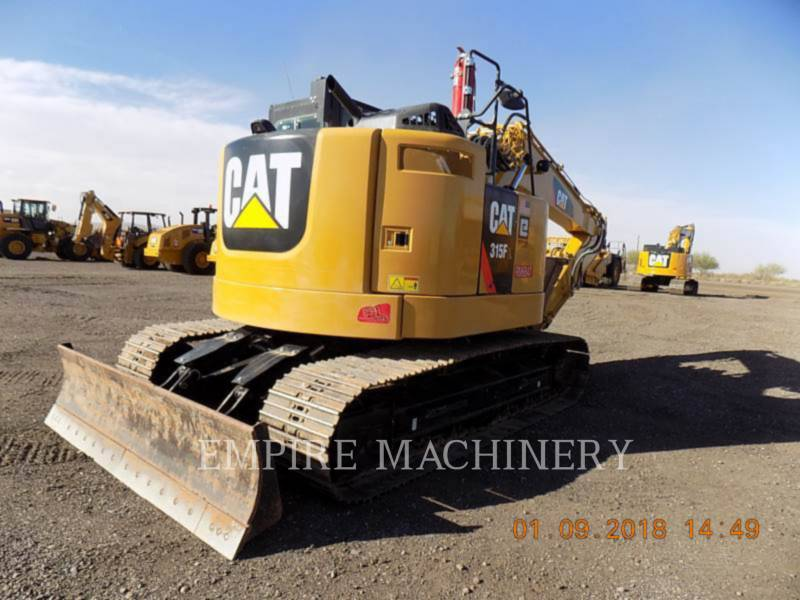 CATERPILLAR KETTEN-HYDRAULIKBAGGER 315FLCR equipment  photo 2