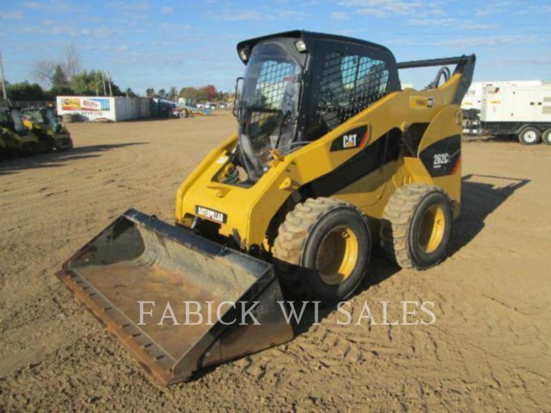 CATERPILLAR PALE COMPATTE SKID STEER 262C2 equipment  photo 1