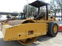 Equipment photo CATERPILLAR CS76 EINZELVIBRATIONSWALZE, GLATTBANDAGE 1