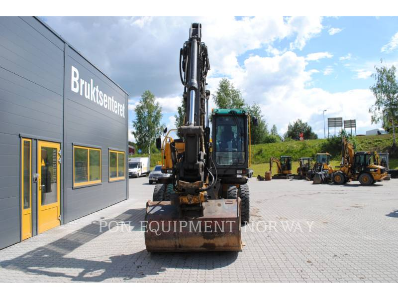 VOLVO CONSTRUCTION EQUIP BRASIL WHEEL EXCAVATORS EW 160 C equipment  photo 5