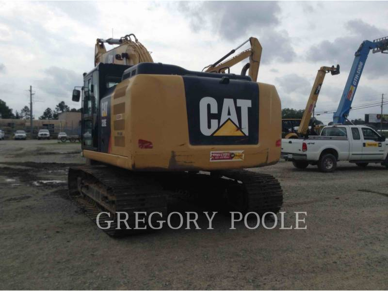 CATERPILLAR KETTEN-HYDRAULIKBAGGER 320E/HYD equipment  photo 4