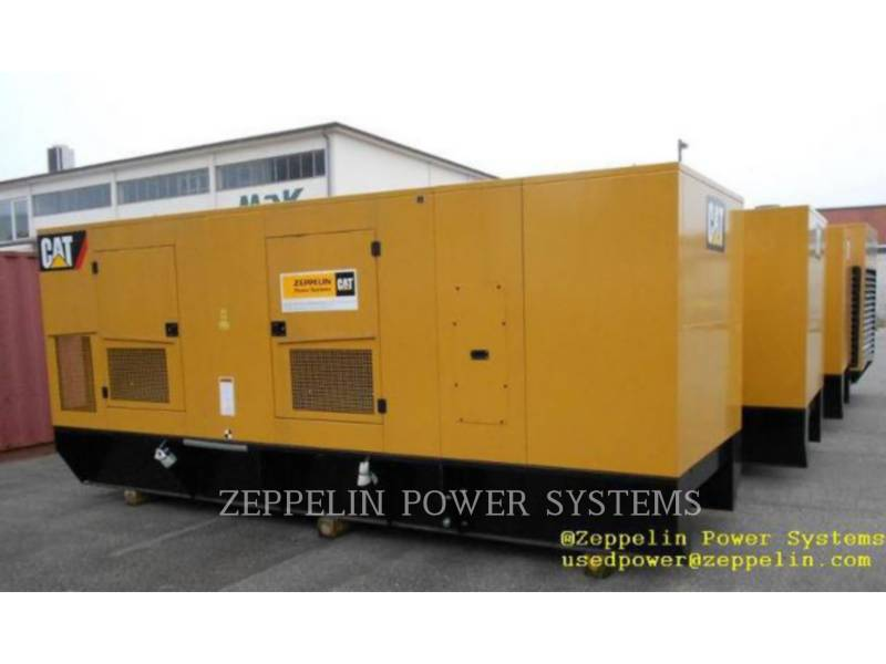 CATERPILLAR PORTABLE GENERATOR SETS C18 CAT REBUILD CANOPY equipment  photo 2