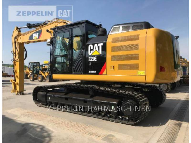 CATERPILLAR TRACK EXCAVATORS 329ELN equipment  photo 2