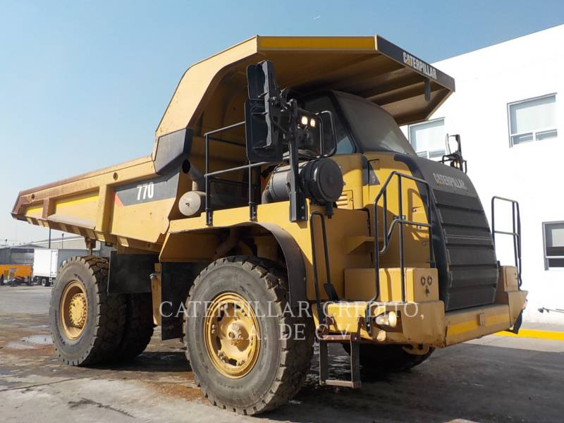 CATERPILLAR DUMPER A TELAIO RIGIDO DA MINIERA 770 equipment  photo 1