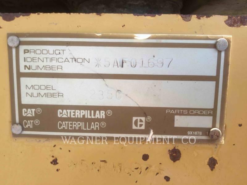 CATERPILLAR TRACK EXCAVATORS 235C equipment  photo 8