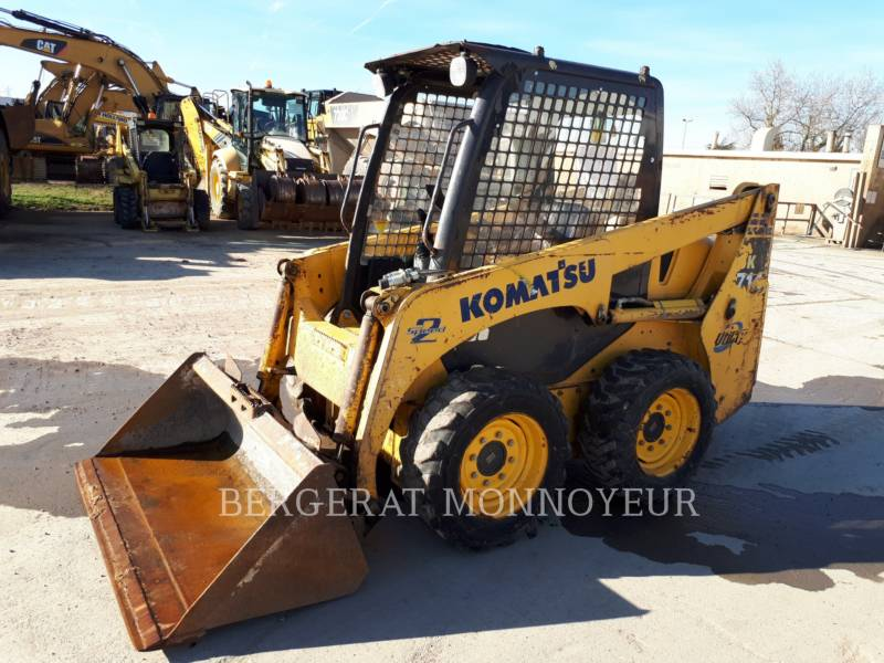 KOMATSU SKID STEER LOADERS SK714 equipment  photo 1