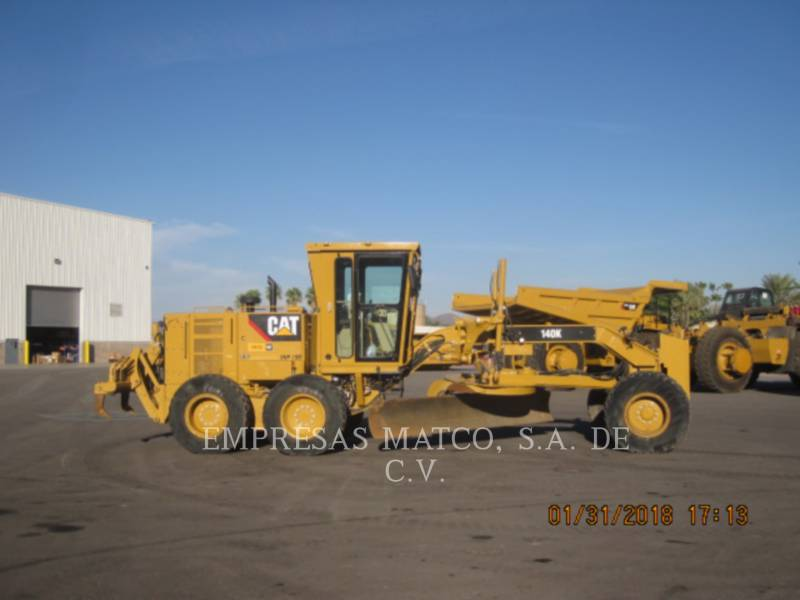 CATERPILLAR MOTORGRADERS 140 K equipment  photo 1