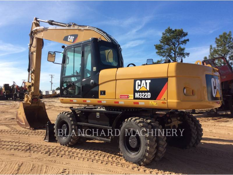 CATERPILLAR WHEEL EXCAVATORS M322D equipment  photo 3