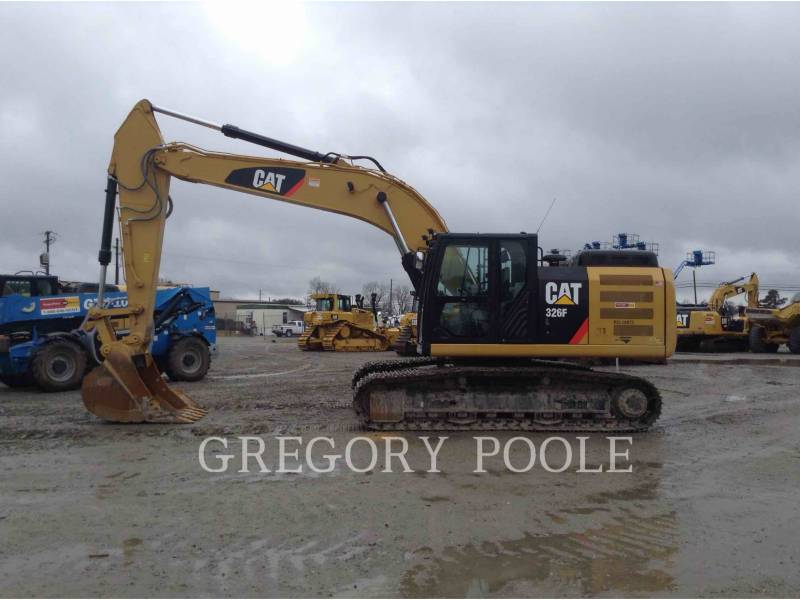 CATERPILLAR TRACK EXCAVATORS 326F L equipment  photo 2