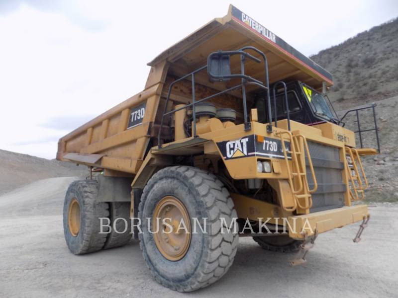 CATERPILLAR OFF HIGHWAY TRUCKS 773D equipment  photo 1