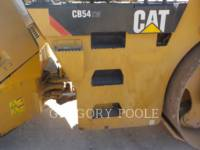 CATERPILLAR VIBRATORY DOUBLE DRUM ASPHALT CB-54 equipment  photo 21