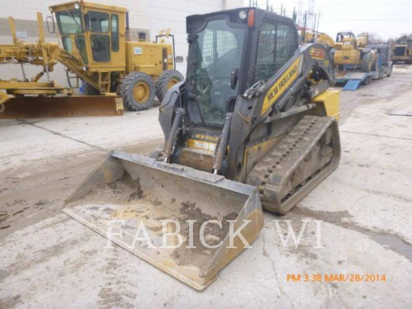 Detail photo of 2011 New Holland C238 from Construction Equipment Guide