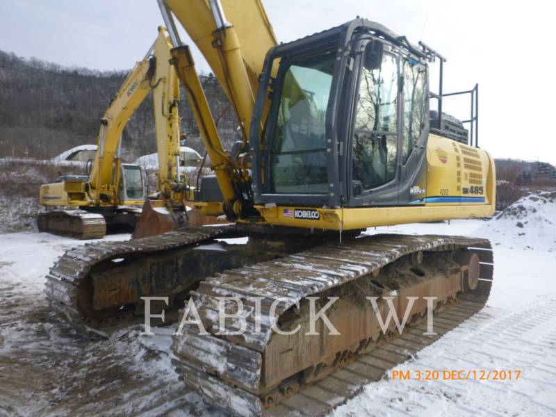 KOBELCO / KOBE STEEL LTD PELLES SUR CHAINES SK485LC equipment  photo 2