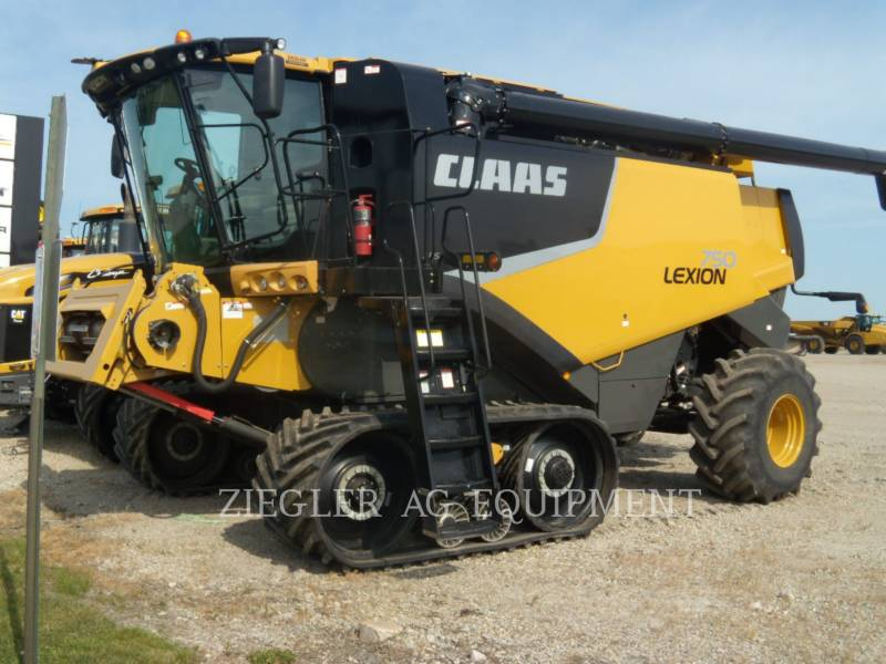 LEXION COMBINE COMBINÉS 750TT equipment  photo 1