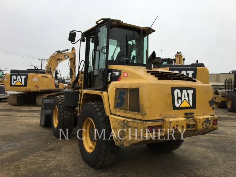 CATERPILLAR CHARGEURS SUR PNEUS/CHARGEURS INDUSTRIELS IT14G2 equipment  photo 5