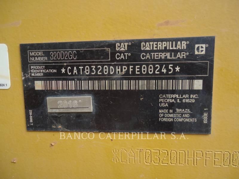 CATERPILLAR EXCAVADORAS DE CADENAS 320D2GC equipment  photo 6