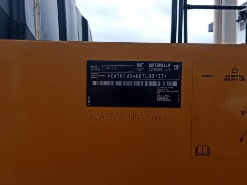 CATERPILLAR PNEUMATIC TIRED COMPACTORS CW34LRC equipment  photo 5
