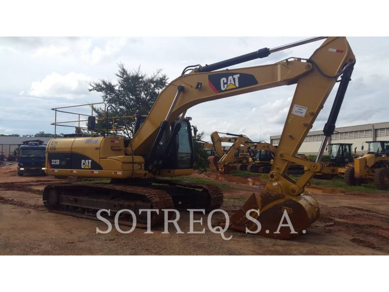 CATERPILLAR EXCAVADORAS DE CADENAS 323DL equipment  photo 4
