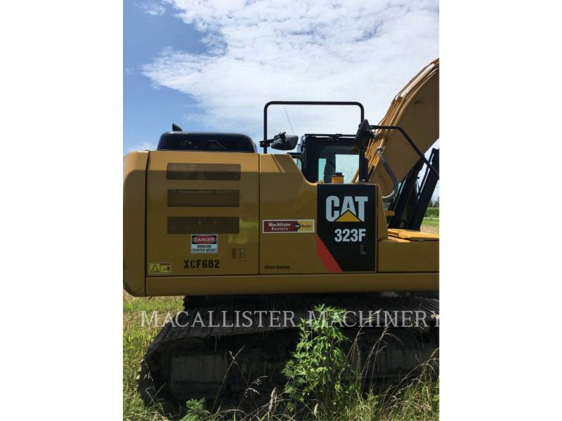 CATERPILLAR PELLES SUR CHAINES 323FL equipment  photo 4