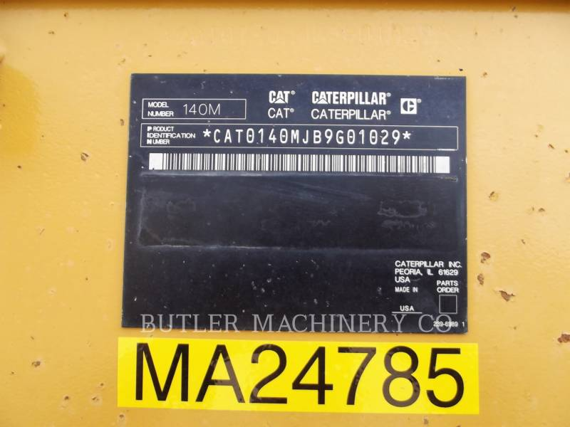 CATERPILLAR MOTORGRADERS 140MAWD equipment  photo 8