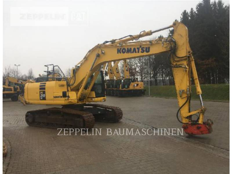 KOMATSU LTD. EXCAVADORAS DE CADENAS PC210-10 equipment  photo 3