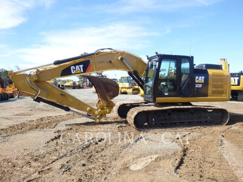 CATERPILLAR KETTEN-HYDRAULIKBAGGER 323FL QC equipment  photo 1