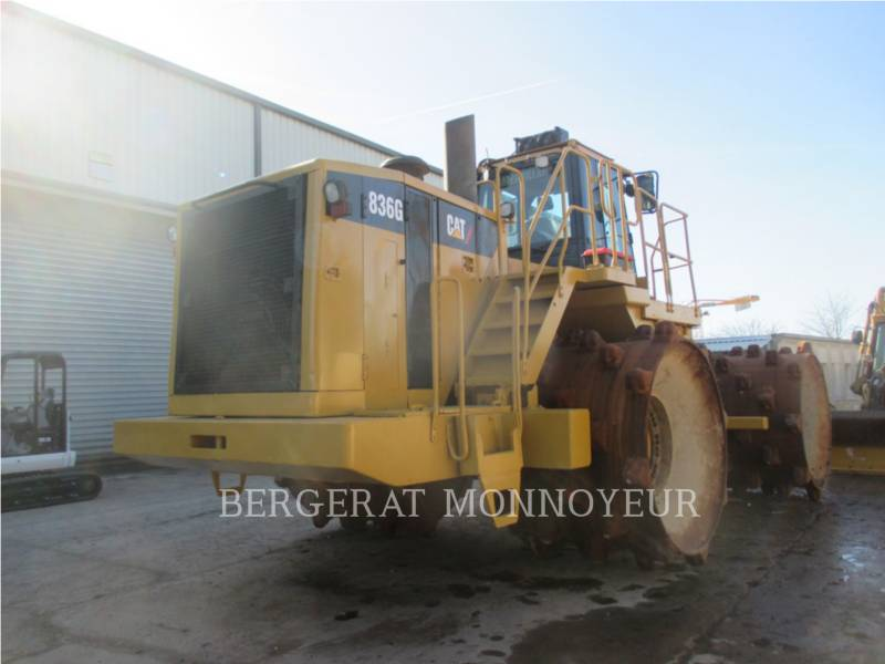 CATERPILLAR COMPACTORS 836G equipment  photo 2
