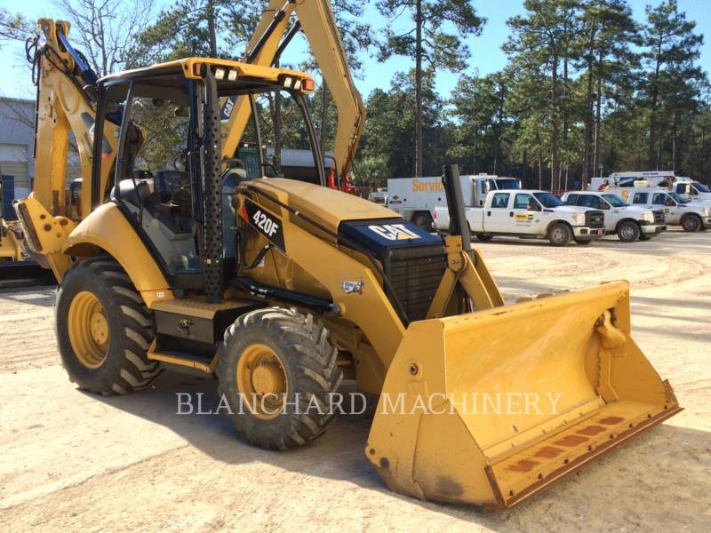 CATERPILLAR BACKHOE LOADERS 420F S4OME equipment  photo 1