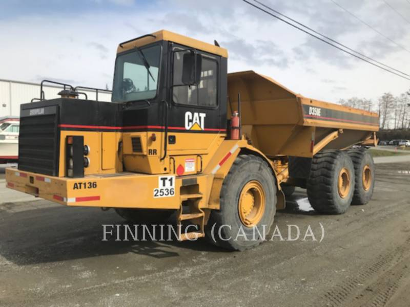 CATERPILLAR CAMIONES ARTICULADOS D350E equipment  photo 1