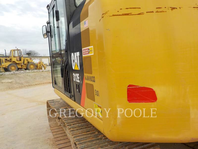 CATERPILLAR ESCAVATORI CINGOLATI 312EL equipment  photo 9