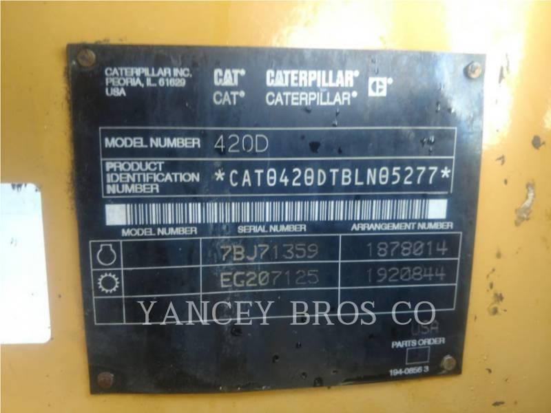 CATERPILLAR バックホーローダ 420D IT4X equipment  photo 7