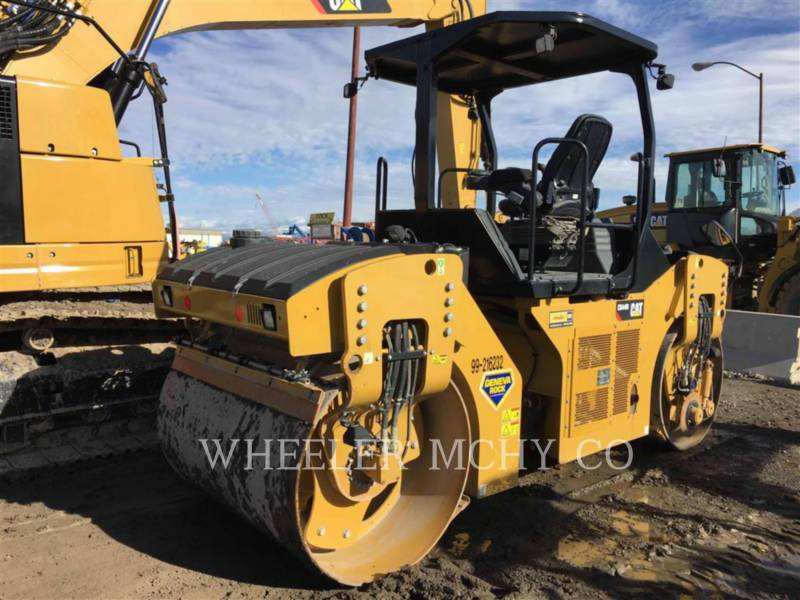 CATERPILLAR ROLO COMPACTADOR DE ASFALTO DUPLO TANDEM CB 44 B equipment  photo 3