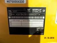 CATERPILLAR BAGGERLADER 420FST equipment  photo 16