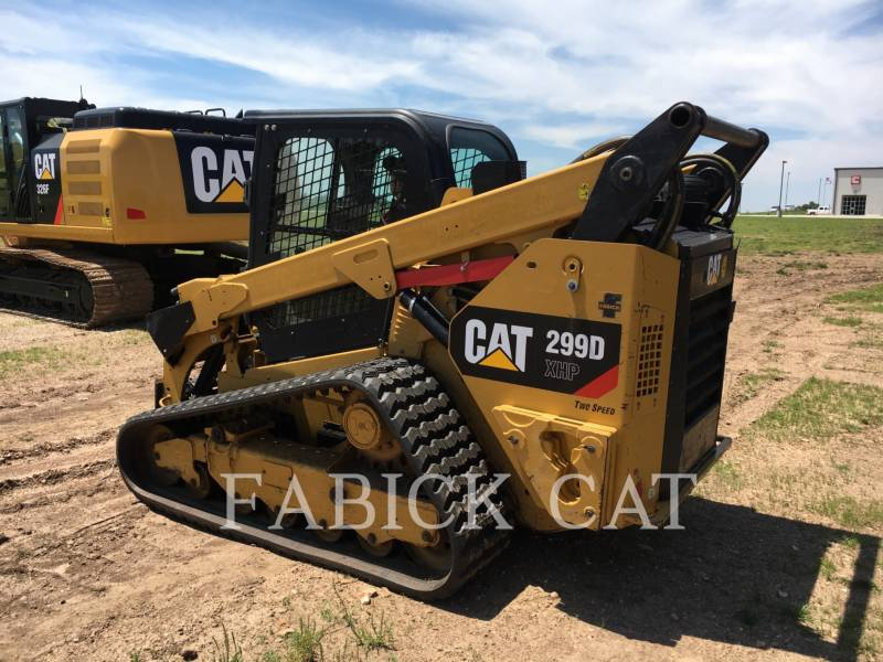 CATERPILLAR CHARGEURS TOUT TERRAIN 299D XHP equipment  photo 4